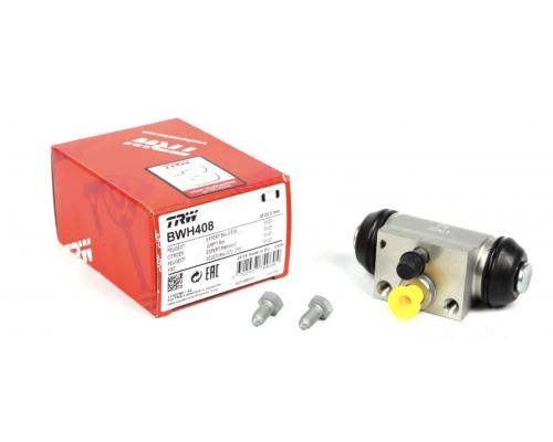Тормозной цилиндр задний Fiat Scudo II / Citroen Jumpy II / Peugeot Expert II 2007- BWH408 TRW (Германия)