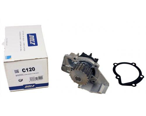 Помпа / водяной насос (двигатель WJZ, RHZ, RHW, RHX) Fiat Scudo / Citroen Jumpy / Peugeot Expert 1.9D / 2.0JTD / 2.0HDI 1995-2006 C120 DOLZ (Испания)