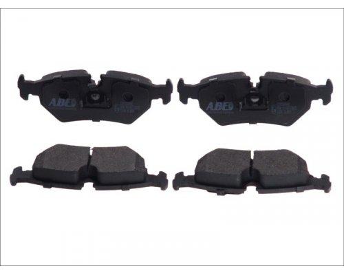 Тормозные колодки задние (ATE, с датчиком) Fiat Scudo / Citroen Jumpy / Peugeot Expert 1995-2006 C2P004ABE ABE (Польша)