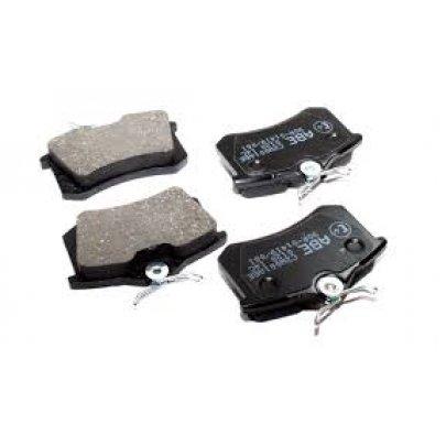 Тормозные колодки задние без датчика (87.6х52.9х17.6mm) VW Caddy III 07- C2W001ABE ABE (Польша)