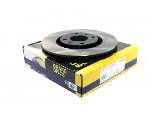 Тормозной диск передний (283x26мм) Peugeot Partner II / Citroen Berlingo II 2008- CD7152V BREMSI (Италия)