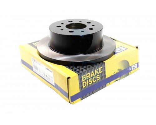 Тормозной диск задний (280x16мм, R15) Fiat Ducato / Citroen Jumper / Peugeot Boxer 2002-2006 CD7653S BREMSI (Италия)