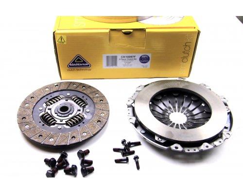 Демпфер / маховик (глухой) + комплект сцепления VW Transporter T4 2.5TDI 75kW CK10097F NATIONAL (Англия)