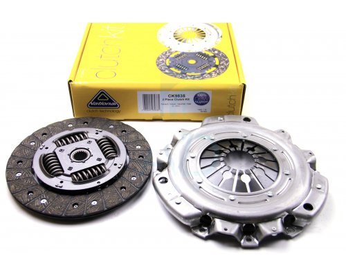 Комплект сцепления (корзина, диск) Renault Master II 1.9 dCi / Nissan Interstar 1.9dCi 1998-2010 CK9835 NATIONAL (Англия)
