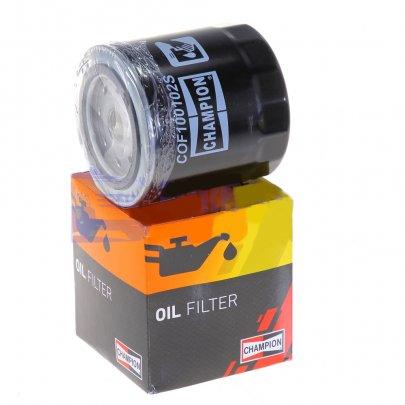 Масляный фильтр Fiat Ducato / Citroen Jumper / Peugeot Boxer 2.0 (бензин) / 1.9D / 1.9TD / 2.0JTD / 2.0HDi / 2.2HDi 1994-2006 COF100102S CHAMPION (США)
