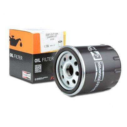 Фильтр масляный Peugeot Partner / Citroen Berlingo 1.1 / 1.4 / 1.6 / 1.8 (бензин) 1996-2008 COF100118S CHAMPION (США)