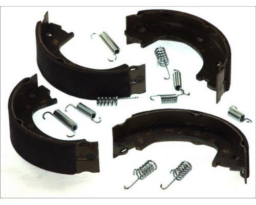 Колодки ручника (со сдвоенным колесом, с пружинками) VW Crafter 2006- CRM013ABE ABE (Польша)