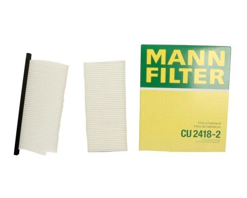 Фильтр салона Renault Kangoo II / MB Citan 2008- CU2418-2 MANN (Германия)
