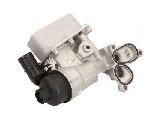 Корпус масляного фильтра (с радиатором, 69x139x58) Renault Trafic II / Opel Vivaro A 2.0dCi 06-14 D4R009TT THERMOTEC (Польша)