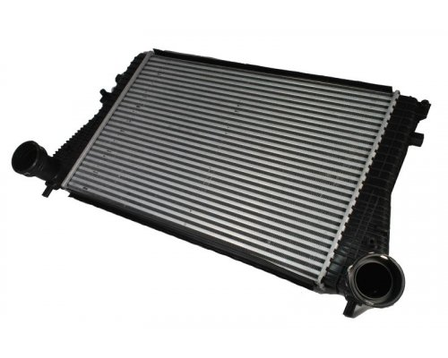 Радиатор интеркулера (двигатель BJB) VW Caddy III 1.9TDI 04-10 DAW005TT THERMOTEC (Польша)