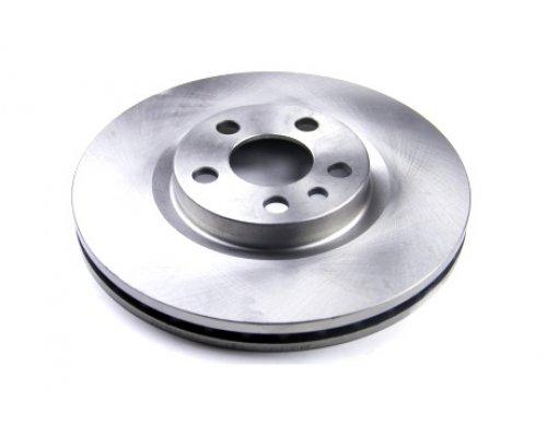 Тормозной диск передний (281x26мм) Fiat Scudo / Citroen Jumpy / Peugeot Expert 1995-2006 DBA760V BREMSI (Италия)