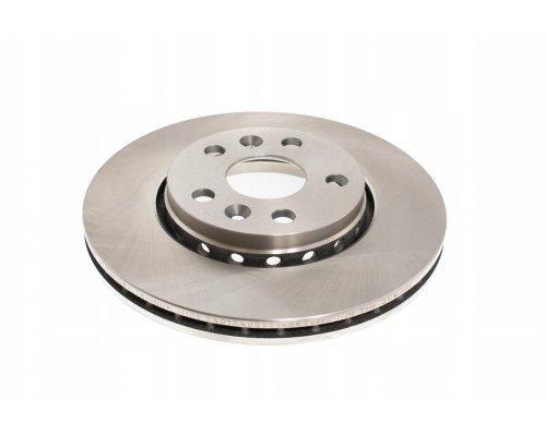 Тормозной диск передний (R15 / R16, D=280mm) Renault Kangoo II / MB Citan 2008- DBB733V BREMSI (Италия)