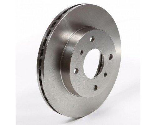 Тормозной диск передний (с ABS, D=259mm) Renault Kangoo / Nissan Kubistar 97-08 RD.3325.DF2586 RIDER (Венгрия)