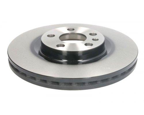 Тормозной диск передний (281x26мм) Fiat Scudo / Citroen Jumpy / Peugeot Expert 1995-2006 DF2716 TRW (Германия)