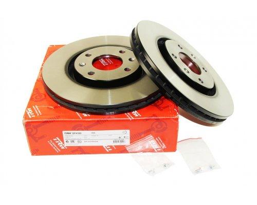 Тормозной диск передний (283x26мм) Peugeot Partner II / Citroen Berlingo II 2008-  DF4183 TRW (Германия)
