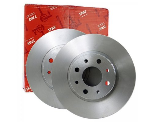 Тормозной диск задний (272х10mm) VW Caddy III 04- DF7911 TRW (Германия)