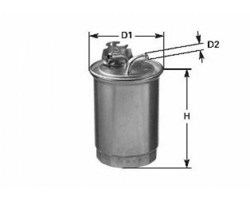Топливный фильтр VW LT 2.5SDI / 2.5TDI / 2.8TDI (92kW / 96kW) 1996-2006 DN993 CLEAN FILTERS (Италия)