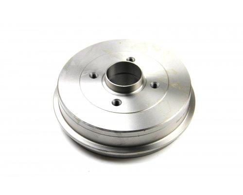 Тормозной барабан задний (d=203мм) Renault Kangoo / Nissan Kubistar 97-08 DR5391 BREMSI (Италия)