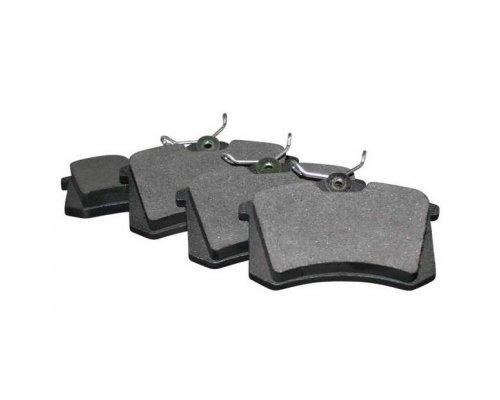 Тормозные колодки задние без датчика (87.6х52.9х17.6mm) VW Caddy III 07- 1163705310 JP GROUP (Дания)