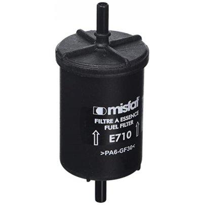 Фильтр топливный Peugeot Partner / Citroen Berlingo 1.1 / 1.4 / 1.6 (бензин) 1996-2008 E710 MISFAT (Польша)