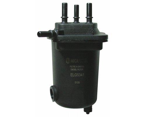 Фильтр топливный (с датчиком) Renault Kangoo / Nissan Kubistar 1.5dCi 97-08 ELG5341 MECAFILTER (Франция)