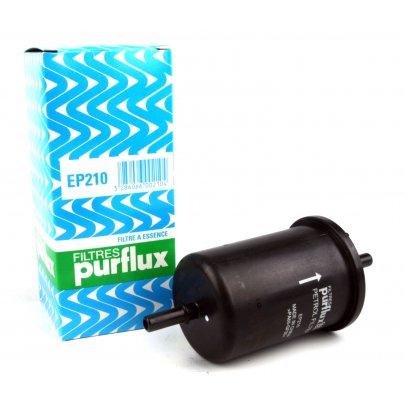 Фильтр топливный Peugeot Partner / Citroen Berlingo 1.1 / 1.4 / 1.6 (бензин) 1996-2008 EP210 PURFLUX (Франция)