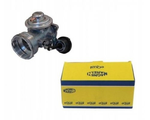 Клапан EGR рециркуляции отработанных газов (двигатель AXC / AXB) VW Transporter T5 1.9TDI 63kW / 77kW 2003-2009 EV050 MAGNETI MARELLI (Италия)
