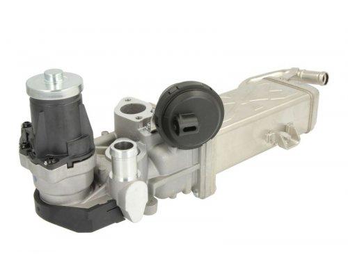 Клапан EGR рециркуляции отработанных газов (с радиатором) VW Caddy III 1.6TDI / 2.0TDI 2010-2015 EVEU053 MOBILETRON (Тайвань)