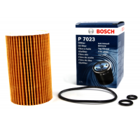 Фильтр масляный VW Caddy III 1.6TDI / 2.0TDI 2010- F026407023 BOSCH (Германия)