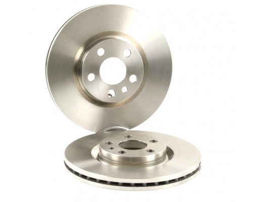 Тормозной диск передний (281x26мм) Fiat Scudo / Citroen Jumpy / Peugeot Expert 1995-2006 F2161V LPR (Италия)