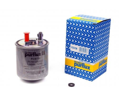 Фильтр топливный (с датчиком воды, до 05.2009) Renault Kangoo II 1.5dCi 2008-2009 FCS738 PURFLUX (Франция)
