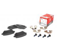 Тормозные колодки задние без датчика (105.3х55.9х17.1mm) VW Caddy III 04- GDB1622 TRW (Германия)