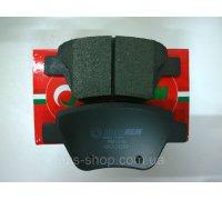 Тормозные колодки задние без датчика (109.3х53.4х17.7mm) VW Caddy III 04- RM1016 GOODREM (Венгрия)