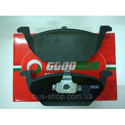 Тормозные колодки передние без датчика (ушки вверх) VW Caddy III 04- RM1084 GOODREM