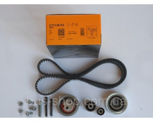 Комплект ГРМ VW Caddy  III 1.6TDI/2.0TDI 10- CT1139K2 CONTITECH (Германия)