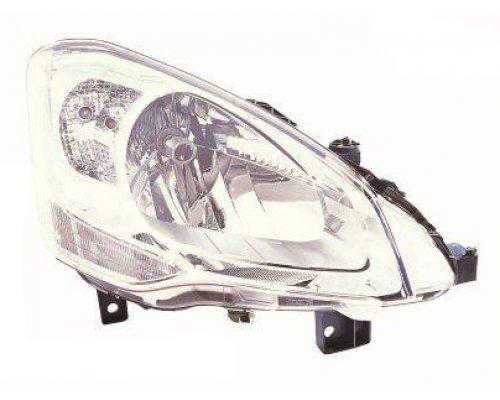 Фара передняя правая (тип ламп: H4) Citroen Berlingo II 2008- FP2035R2-E DEPO (Тайвань)