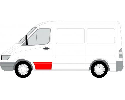 Ремонтная часть передней двери левой (31см) MB Sprinter 901-905 1995-2000 FP3546121 FPS (Тайвань)