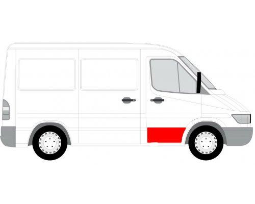 Ремонтная часть передней двери правой (31см) MB Sprinter 901-905 1995-2000 FP3546122 FPS (Тайвань)