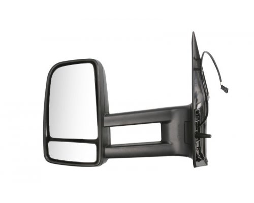 Зеркало левое механическое (большое) VW Crafter 2006- FP3547M07 FPS (Тайвань)