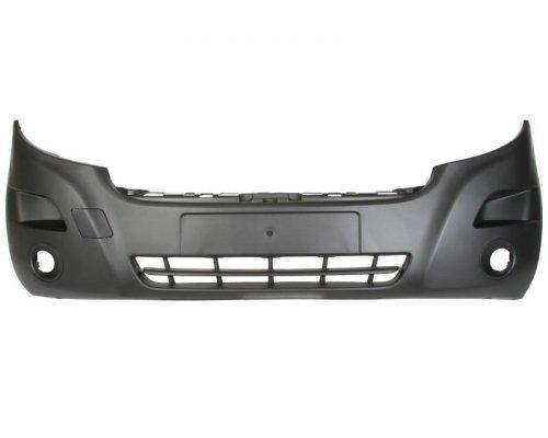 Бампер передний (с отверстиями под противотуманку) Renault Master III 2010- FP5629901 FPS (Тайвань)