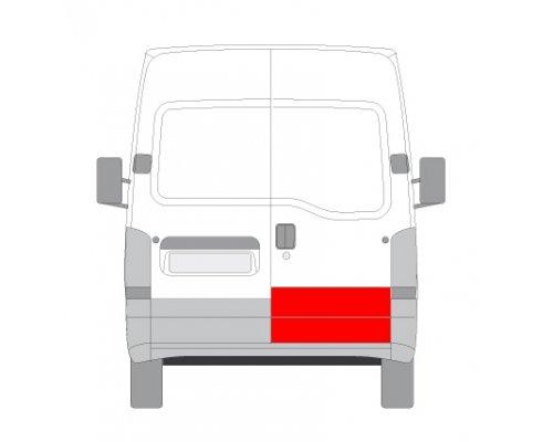 Ремонтная часть задней двери правой (длина 35см) Renault Master II / Opel Movano 1998-2010 FP6065154 FPS (Тайвань)