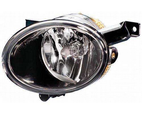 Фара противотуманная левая (не линзованная, повышенное качество, c лампой) VW Caddy III 10- FP7411H1-V FPS (Тайвань)