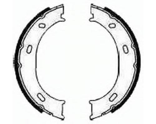 Колодки ручника (без пружинок) MB Sprinter 208-316 1995-2006 FSB624 FERODO (Великобритания)
