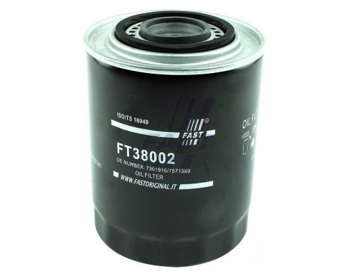 Масляный фильтр Renault Master II 2.5D, 2.8TDI / Opel Movano 2.5D, 2.8DTI 1998-2010 FT38002 Fast (Италия)