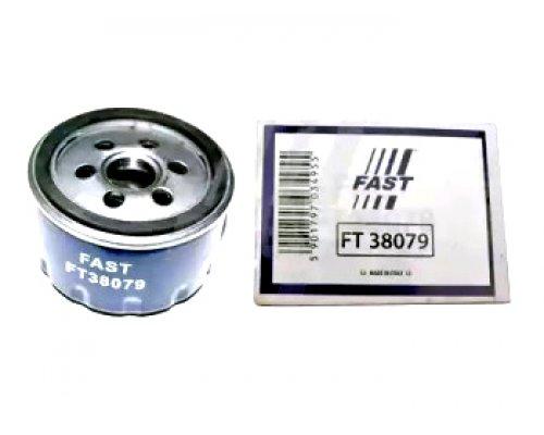 Масляный фильтр Renault Kangoo 1.4 / 1.6 / 1.5dCi / 1.9D 97-08 FT38079 Fast (Италия)