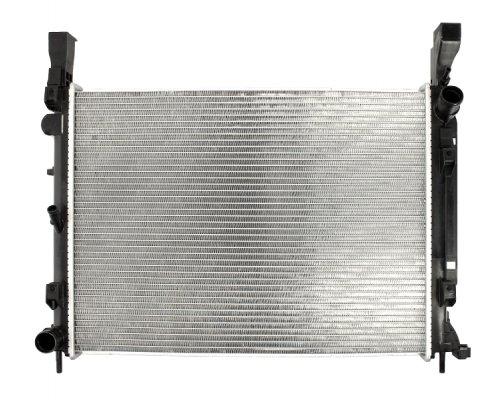Радиатор охлаждения (430x560x26мм) Renault Kangoo II 1.5dCi 2008- FT55270 Fast (Италия)