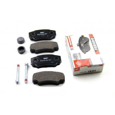 Тормозные колодки задние Fiat Ducato / Citroen Jumper / Peugeot Boxer 2002-2006 FVR1480 FERODO (Великобритания)
