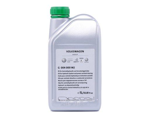 Жидкость ГУР зелёная синтетическая (1л) VW Caddy III 2004-2015 G004000M2 VAG (Германия)