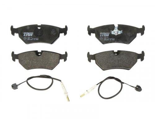 Тормозные колодки задние (ATE, с датчиком) Fiat Scudo / Citroen Jumpy / Peugeot Expert 1995-2006 GDB1258 TRW (Германия)