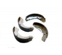 Задние барабанные тормозные колодки (254x57мм) Fiat Ducato / Citroen Jumper / Peugeot Boxer 2002-2006 GF0186 BREMSI (Италия)